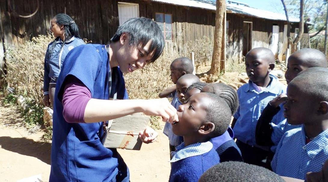 ケニアの学校に医療を届ける日本人インターン